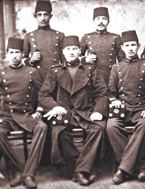 Atatürk  and friends