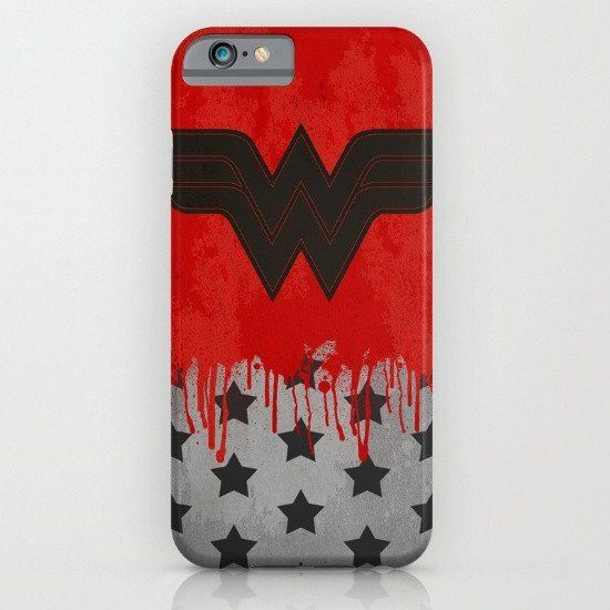 "Wonder Woman Comic - Wonder ""Redson"" Woman iphone case, smartphone"