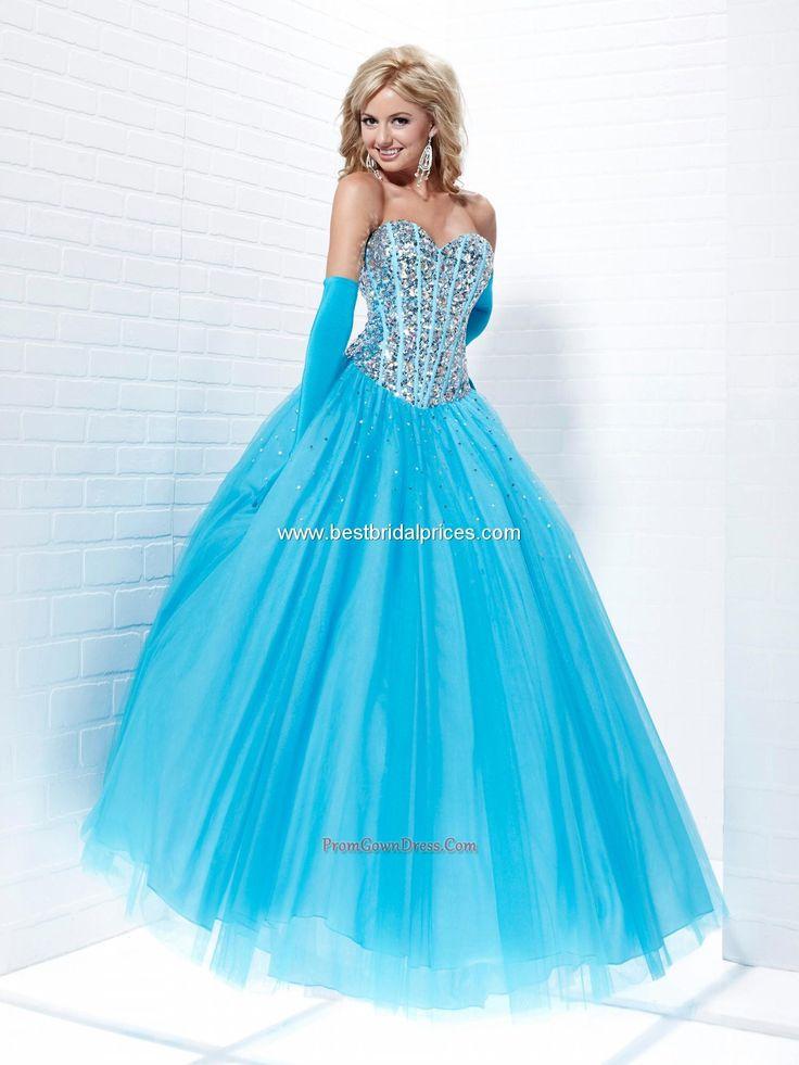 Blue Ball Gown Wedding Dresses Cheap
