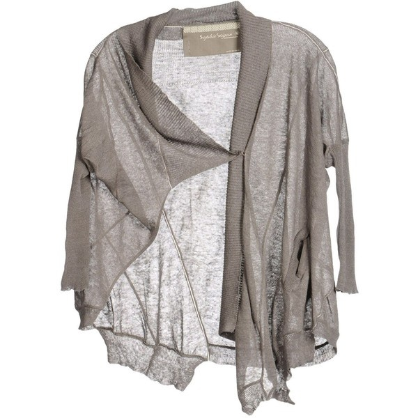 SOPHIE STIQUE by MARIAGRAZIA BENI Cardigan ($235) ❤ liked on Polyvore