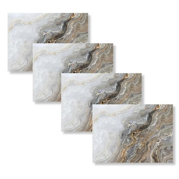 Taupe Agate 18 In W X 13 In L Polypropylene 4 Pack Placemat Set The Home Depot In 2021 Placemat Sets Placemats Orren Ellis