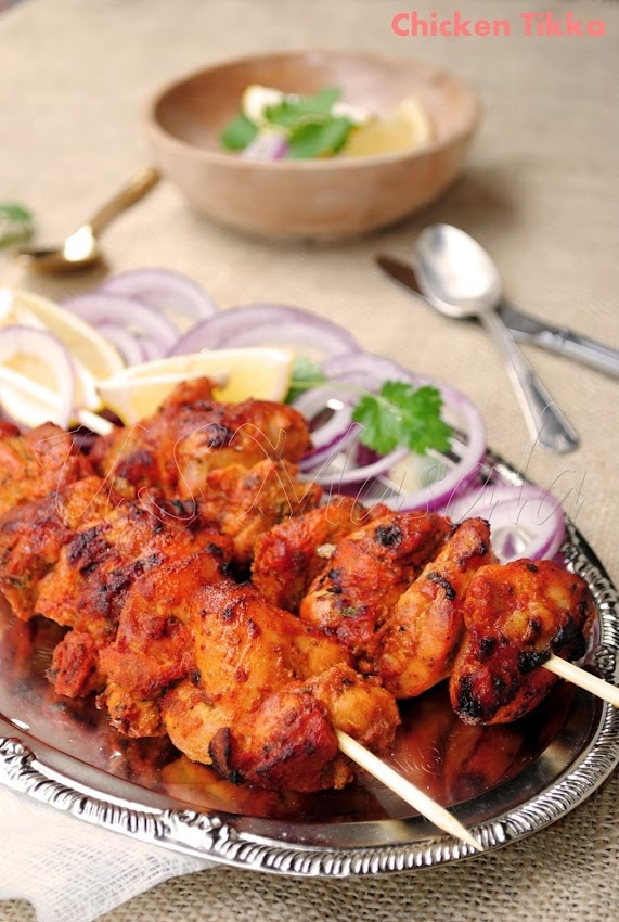 Tandoori Chicken Tikka Cooked To Perfection With Fragrant Indian