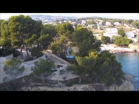 DJI Phantom 2 Vision +      From Calpe to Moraira