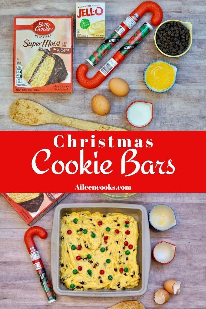 Santa S Favorite Christmas Cookie Bars Recipe Christmas Cookie Bars Cookie Bars Cookie Bar Recipes