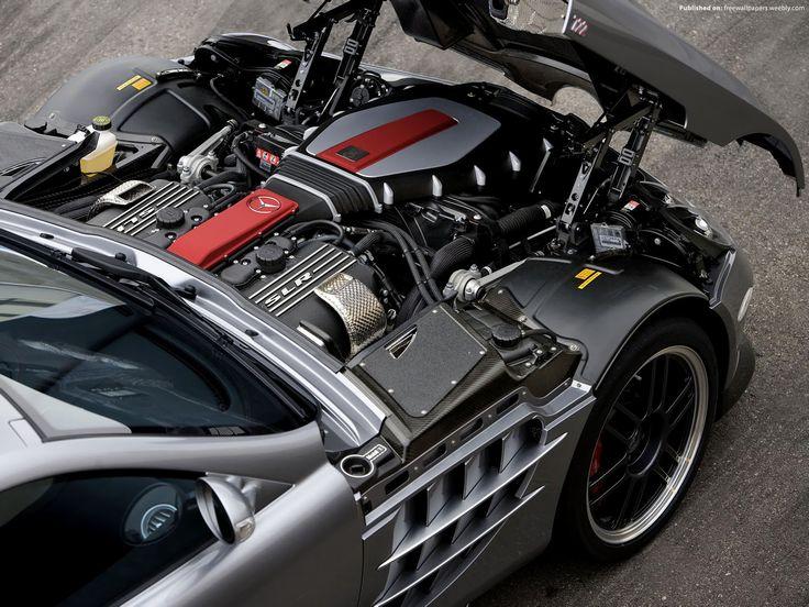 Mercedes-Benz SLR McLaren Engine