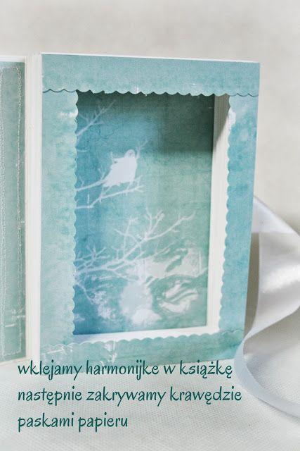 Artystyczny blog sklepu HopmArt: kurs na książkę harmonijke