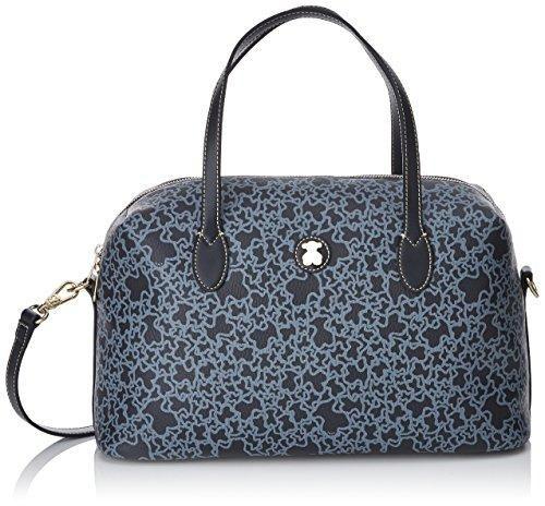 Oferta: 149€. Comprar Ofertas de TOUS Patch Greet, Bolso Bolera para Mujer, Azul (Marino), 13x20x35 cm (W x H x L) barato. ¡Mira las ofertas!