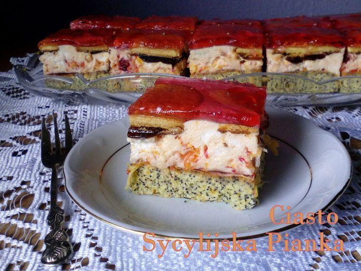 Ciasto Sycylijska Pianka PRZEPIS