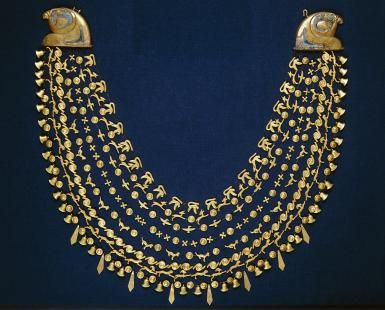 Freedom-Fighting Queen of Ancient Egypt: Golden collar from Ahhotep's tomb