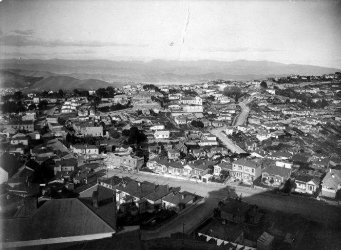 Todman Street & Charlotte Ave, 1920-1940's