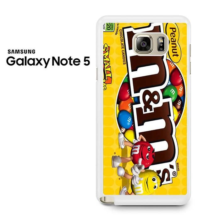 Peanut M And M's Samsung Galaxy Note 5 Case