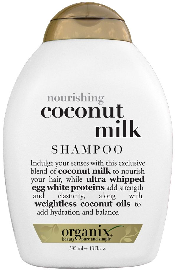 #Organix #CoconutMilk #Shampoo is an exclusive blend of coconut milk to nourish your hair, while ultra whipped egg white proteins add strength and elasticity, along with weightless coconut oils to add hydration and balance. The luxuriously creamy, foaming, hydrating formula leaves your hair feeling clean, glowing, softly scented and super soft. #Naturalindulgence .