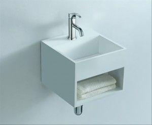 Alsan Miluo handwasbakje 33X33X26 wit