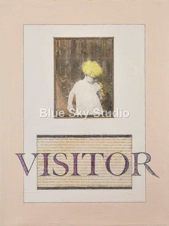 """Visitor - from the series """"Birds in Summer"""""""