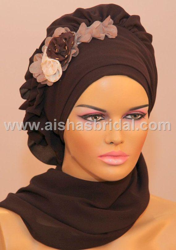 Ready To Wear Hijab  Code HT0070 by aishasbridal on Etsy, $31.00