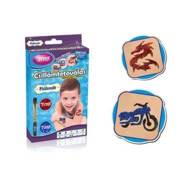 Fiús Mini Csillámtetoválás - Tytoo - Egyszerbolt