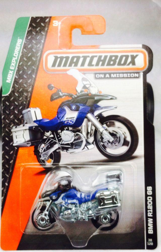Hot Matchbox Mainline Bmw R1200 Gs Diecast Wheels