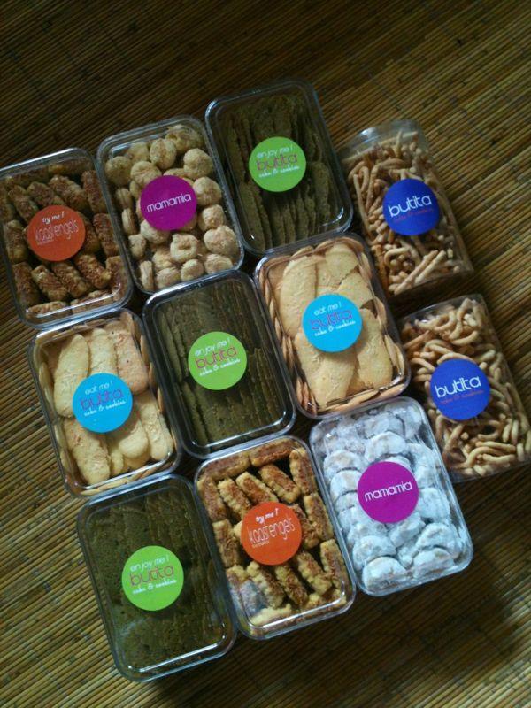 variants of butitas cookies