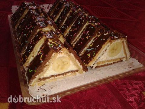 Fotorecept: Trojuholníky z Be-be keksov