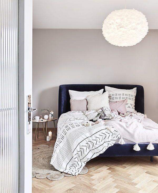 Rendere la camera da letto moderna e accogliente