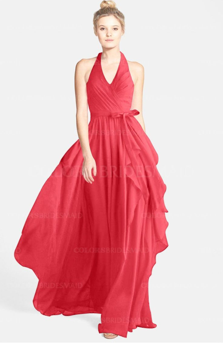15 best guava weddings images on pinterest guava wedding coral coral glamorous a line sleeveless zip up chiffon30 ribbon bridesmaid dresses ombrellifo Gallery