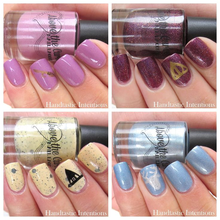 Handtastic Intentions: Above The Curve Nail Lacquer Harry Potter Collection!