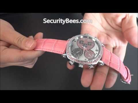 FULL HD 1080P Womens Spy Watch Video