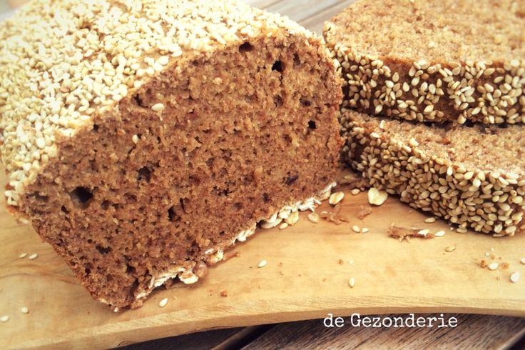 Havermoutbrood (suikervrij)   De Gezonderie