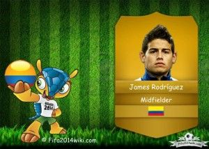 James Rodríguez - Colombia Player - FIFA 2014