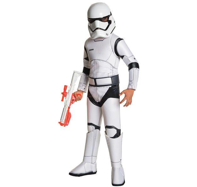 Star Wars Episode 7 Super Deluxe Stormtrooper Kostüm. Hier bei www.closeup.de