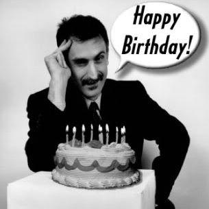 Frank Zappa Birthday Cake