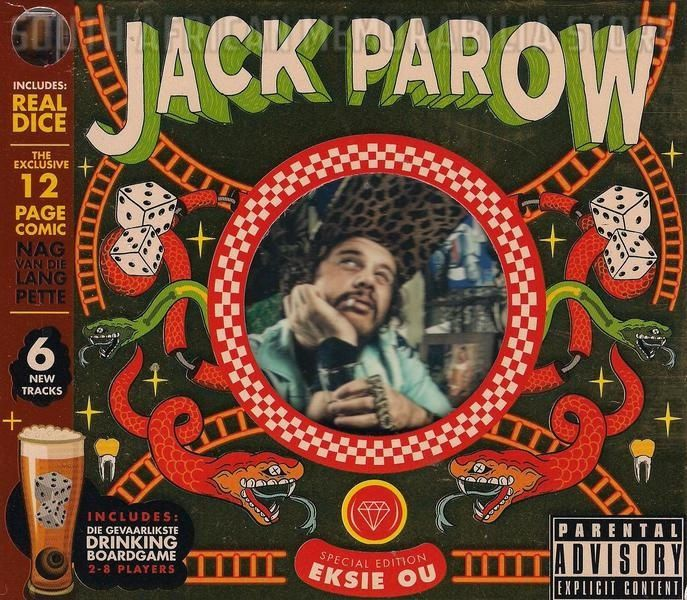 JACK PAROW - Ek Sie Ou - Out of Print South Africa Special Ed CD Game Comic New