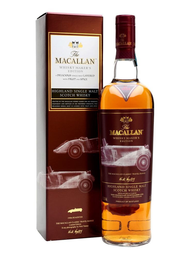 Macallan Whisky Maker's Edition / 1940s Roadster