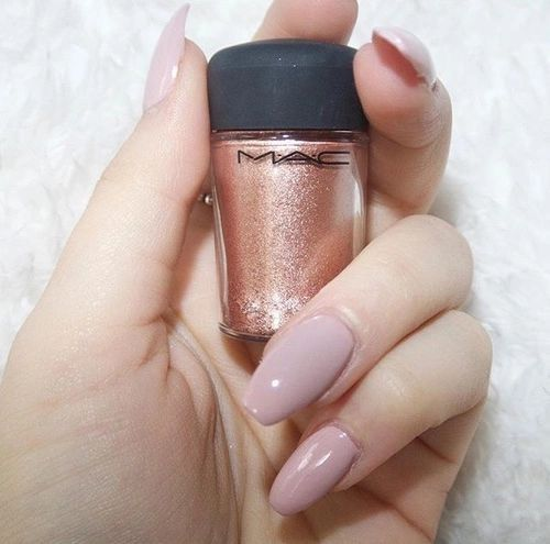Dusty rose gel nails Pinterest: Freya Smith | for more!
