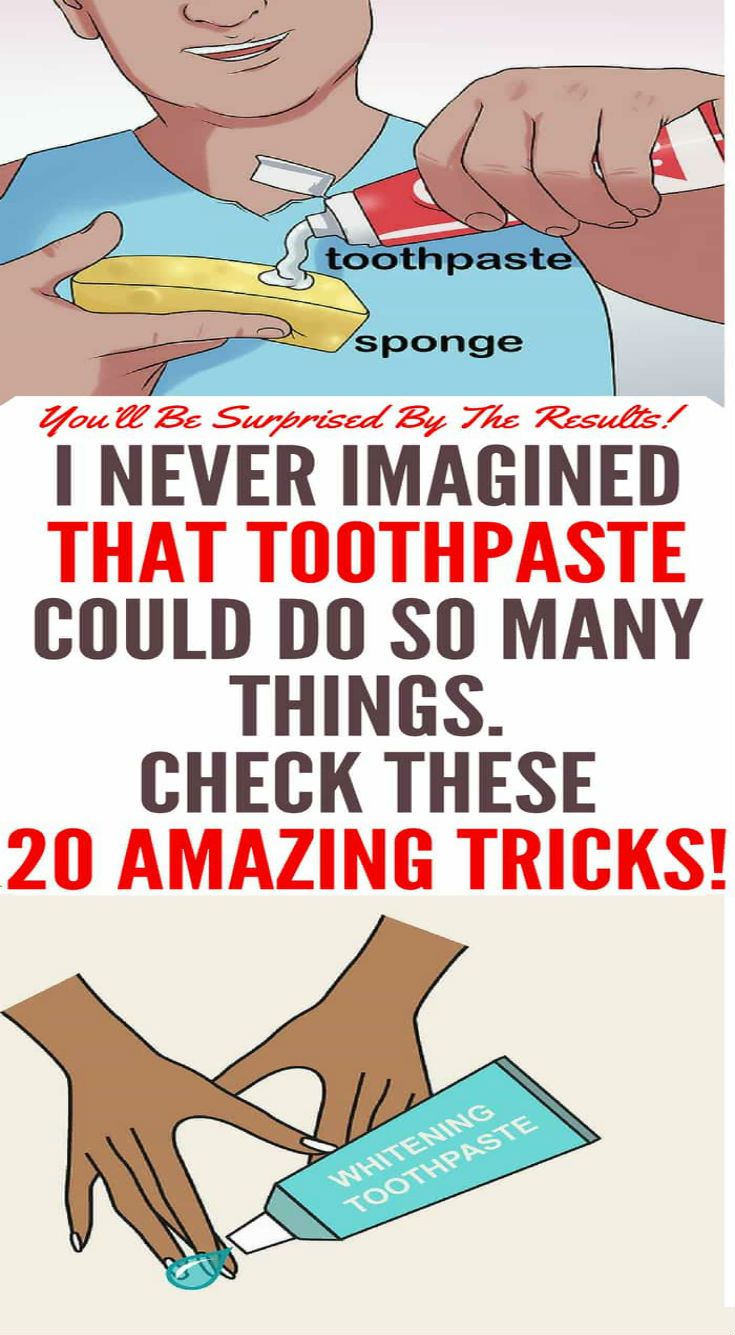 I never imagined that toothpaste could do so many things