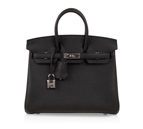 f439009eef7f Guaranteed authentic Hermes Birkin bag 25 in Black Togo leather.This beauty  is a chic bag.
