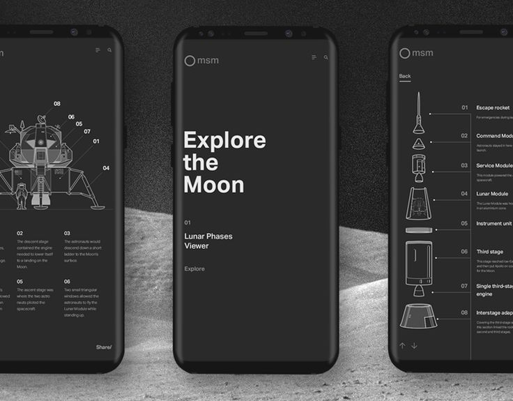"""Check out this @Behance project: """"Explore the Moon"""" https://www.behance.net/gallery/55212387/Explore-the-Moon"""