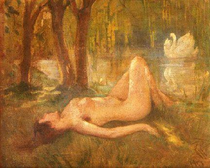 Nude by İbrahim Çallı