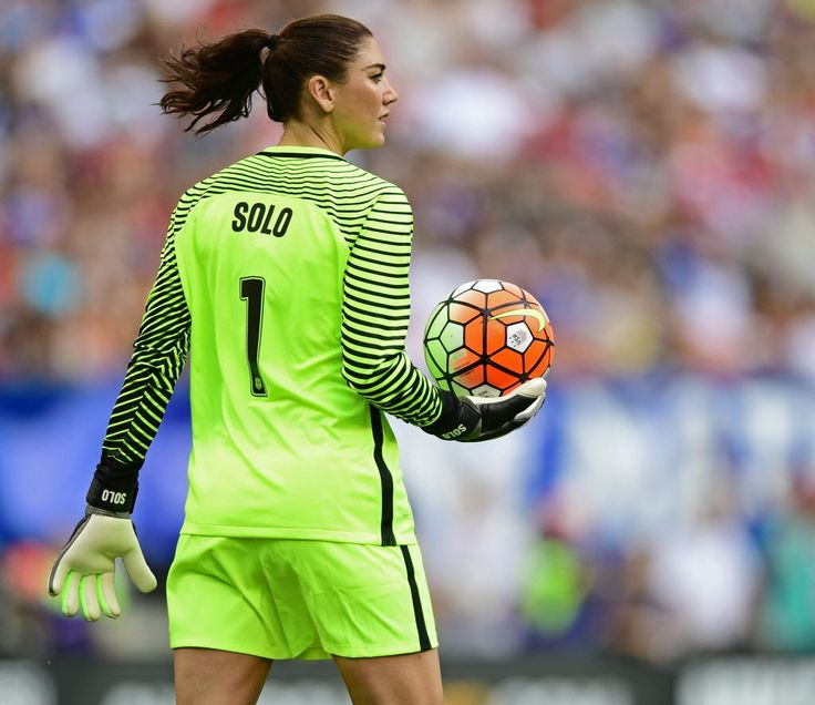Its pretty AMAZING to be able to say that I was there for this game!-Hope Solo vs. Japan, June 5, 2016, Cleveland.