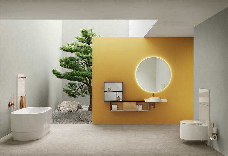 Vitra Bagno Arik Levy X Vitra Gloabl - Equal Sanitary Collection. In