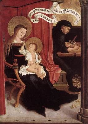 Holy family, Bernhard Strigel/ Andrea Villaseñor