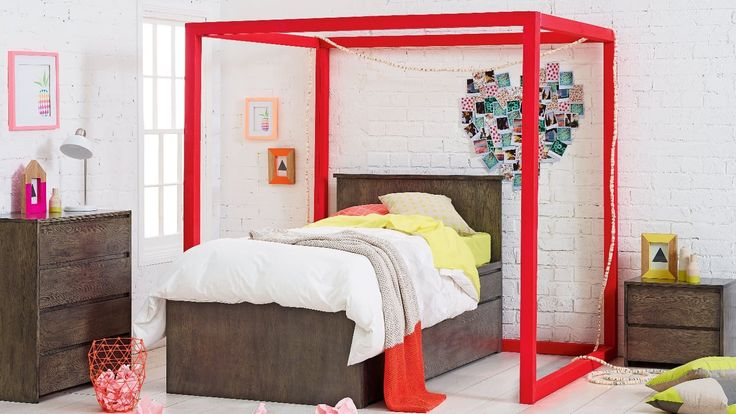 Home :: Bedroom :: Kids Bedroom :: Kids Beds :: Sam Bed Frame with Trundle and Storage Drawers