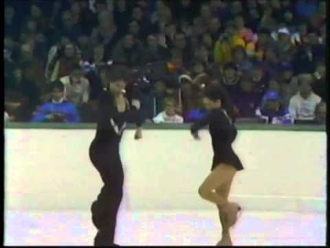1984 Winter Olympics - Pairs Figure Skating Free Skate - Part 9 - Carruthers & Carruthers