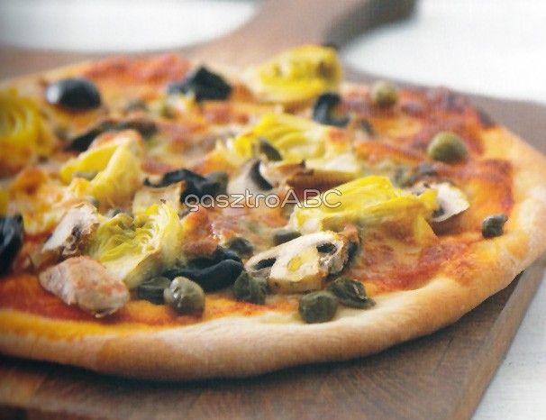 Pizza capricciosa   Receptek