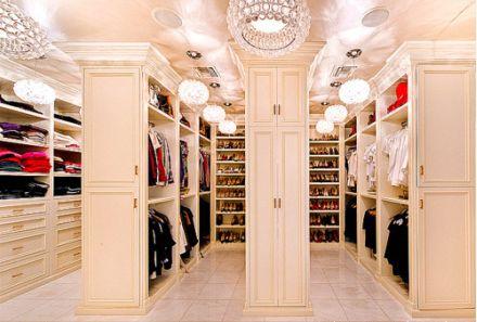 Closet, closet... more closet...