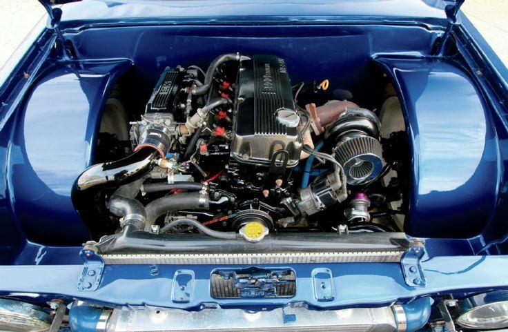 Bagged 1992 Nissan Hardbody Turbo'd KA24E | 4 Wheels ...