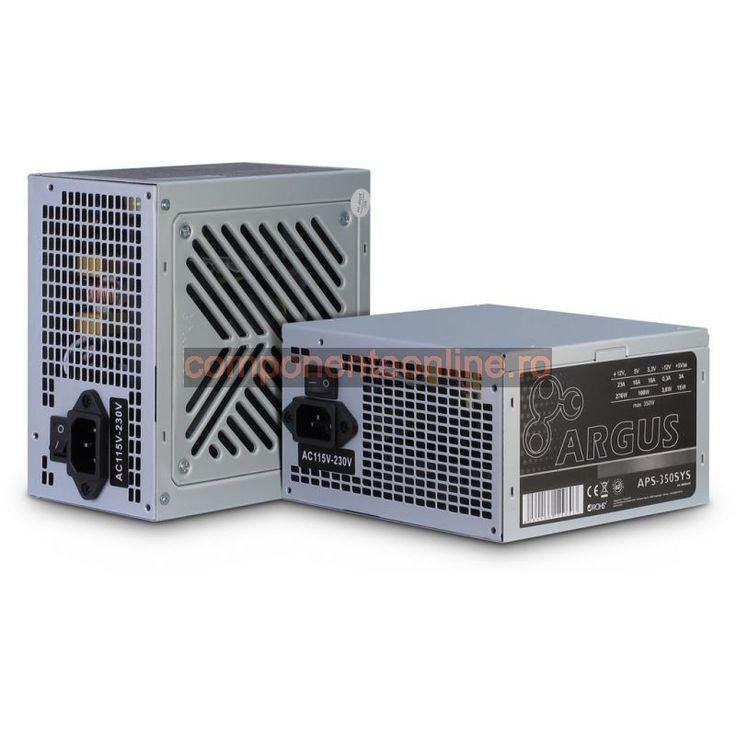 Sursa PC 350W, ATX, Argus, APS-350W SYS, Inter-Tech - 328958