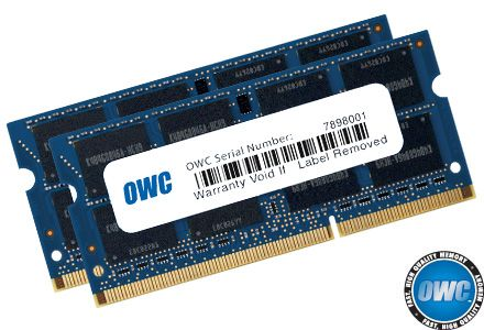 """16.0GB (8GBx2) PC3-10600 DDR3 1333MHz SO-DIMM Memory Upgrade Module for 2011 MacBook Pro models, Mid 2010/2011 27"""" iMac Core i5 and Core i7 models, Mid 2011 Mac mini Core i5 and i7 models. http://eshop.macsales.com/item/Other%20World%20Computing/1333DDR3S16P/"""