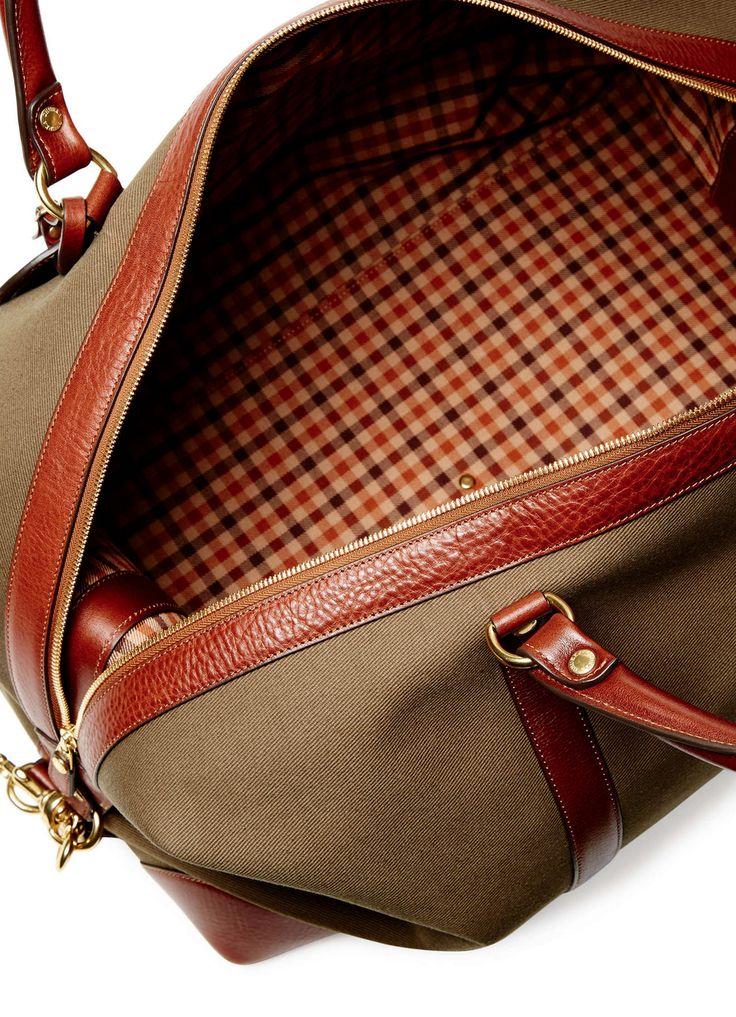 Ghurka — Cavalier II Weekender Canvas Travel Bag on daiiily.com (until 03/22/2015 on Gilt)