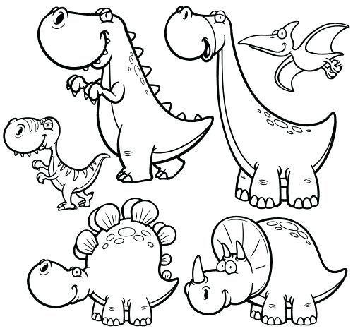 dinosaur in 2020  malvorlage dinosaurier zeichnung